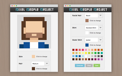 Pixel People Project preview image